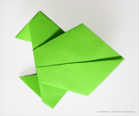 origami tutorials literary spring designs