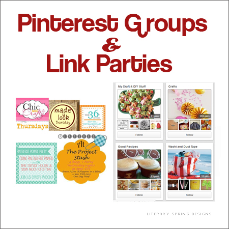 Pinterest Groups and Link Parties