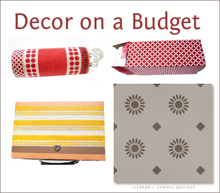 decor on a budget tips