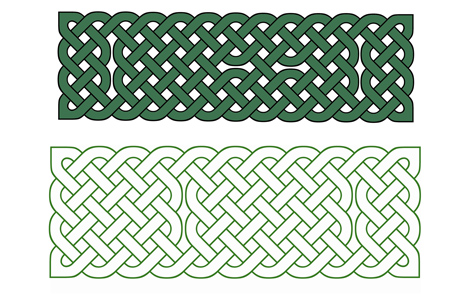 Celtic Knot Bookmark