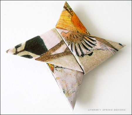 Use Mod Podge to Make Your Origami More Sturdy