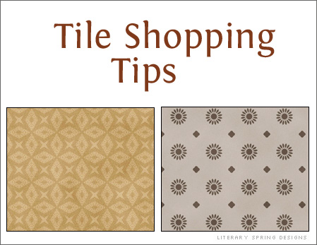 Tile Shopping Tips