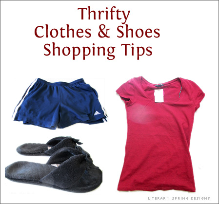 Thrifty Clothes and Shoes Shopping Tips