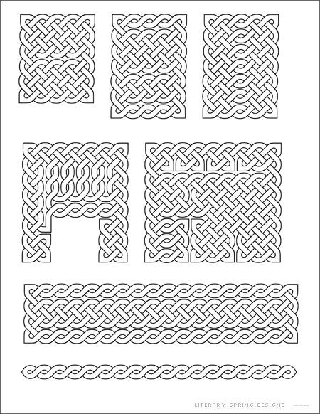 Small Celtic Knots Printable