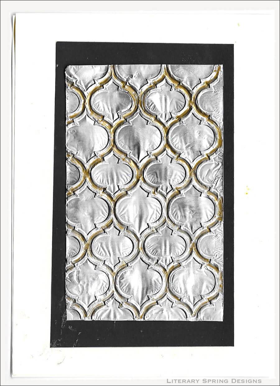 Aluminum Foil Embossed Cards Tutorial